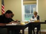Geneva Township Trustees taking a 2011 vote