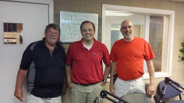 Larry, Kurt and Jeff