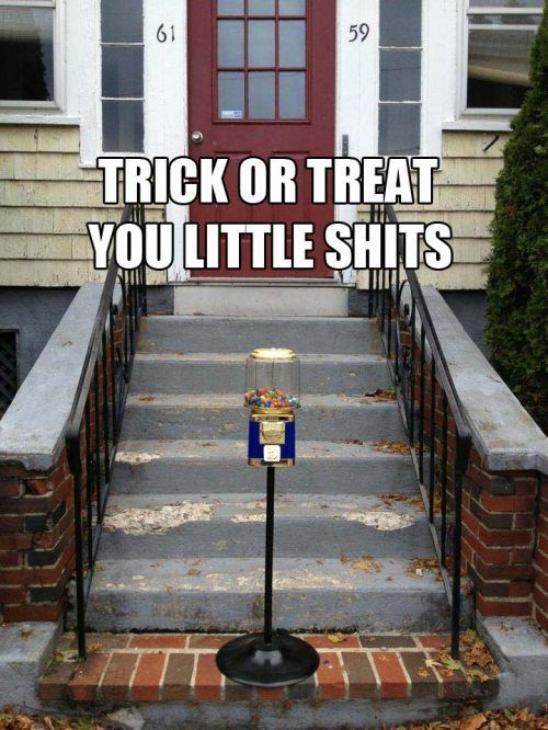 Trick-Or-Treat-You-Little-Shits