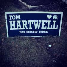 Hartwell sign