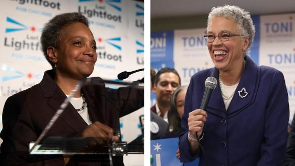 Lightfoot Preckwinkle