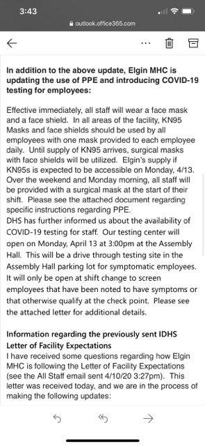 EMHC Letter