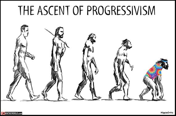 Ascent of progressivism
